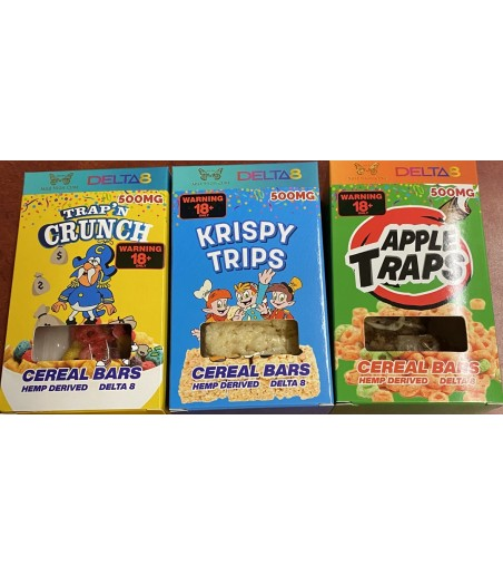 Cereal Bars D8 10PK